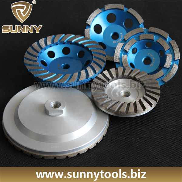 Top Quality Diamond Cup Wheel for Grinding Stone Concrete (S-DCW-1012)
