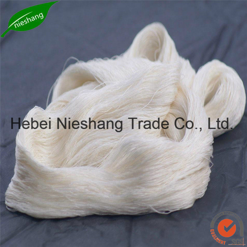 28nm-240nm 100% Spun Mulberry Silk Yarn