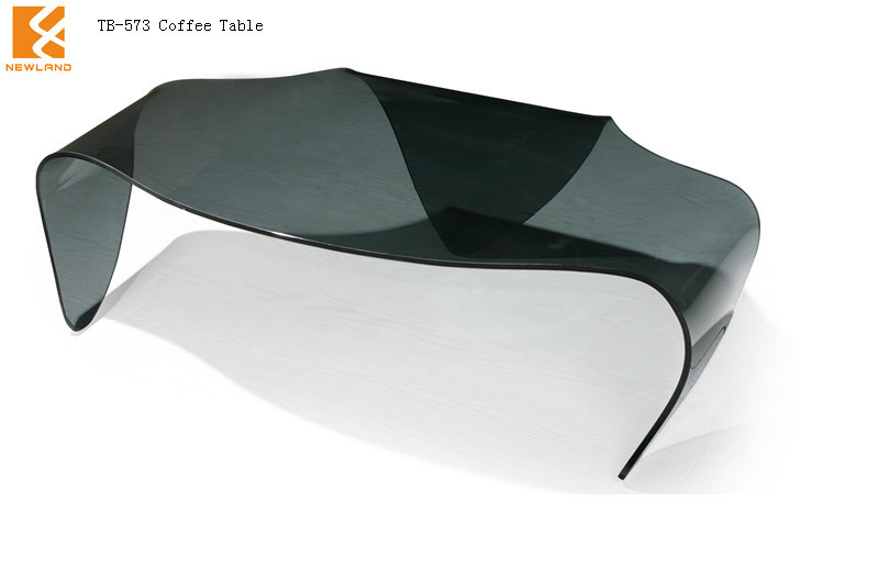 New Glass Coffee Table for Home Using (TB-573)