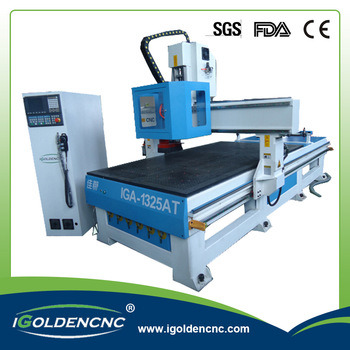 2017 Hot Sale Heavy Duty Table CNC Wood Cutting Machine 1325