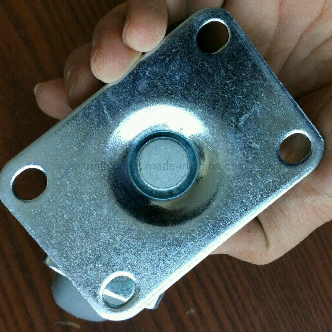 3 / 3.5 / 4 / 5 / 6X2 Inch Swivel Rotating TPR TPU TPE Caster Wheel