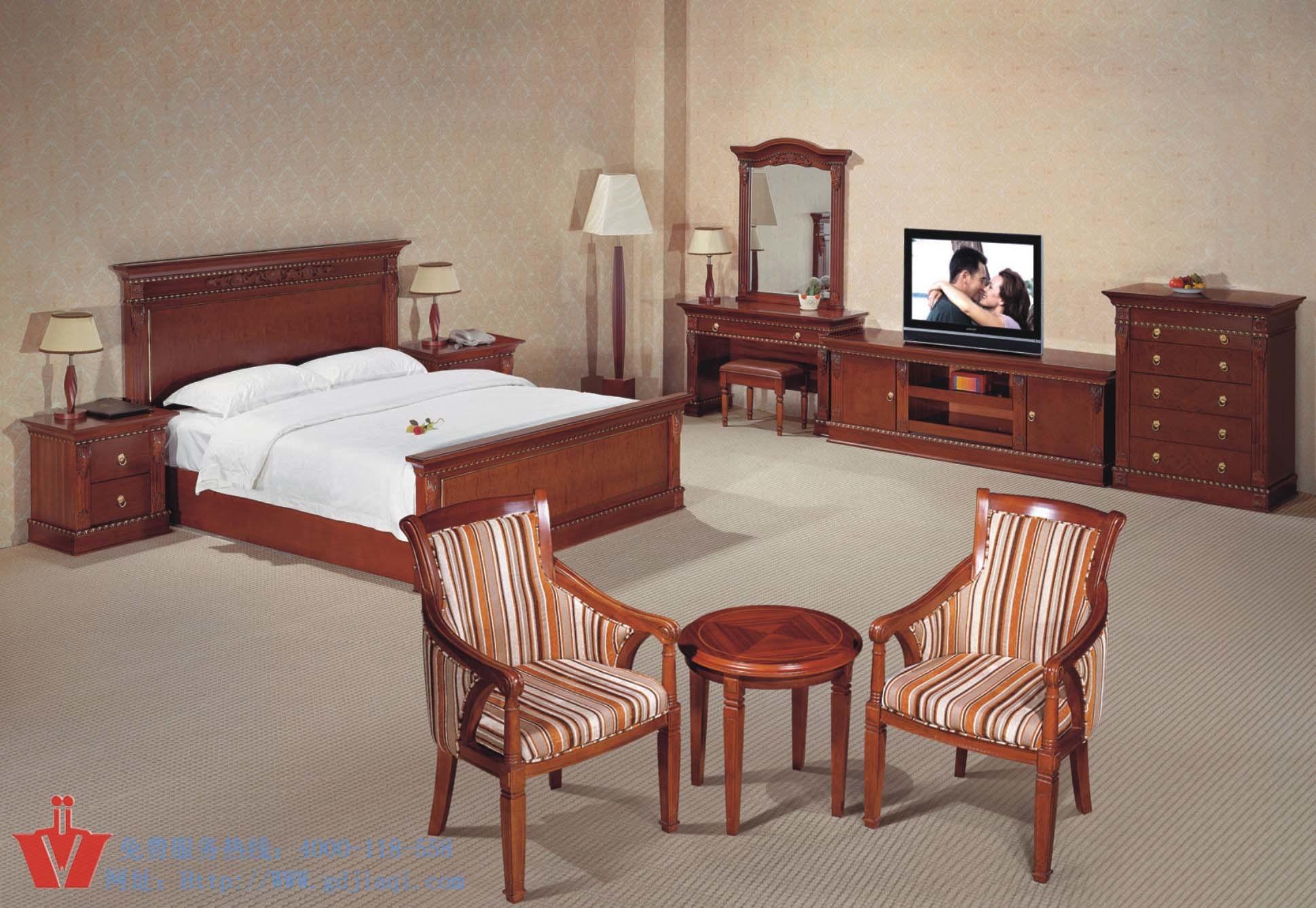 Muebles de la habitación de hotel de lujo (WP132001) – Muebles de