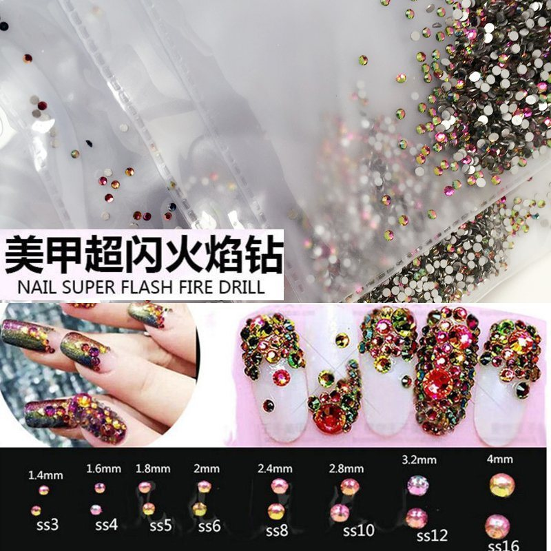 Flatback Nail Rhinestones for Nails Decoration