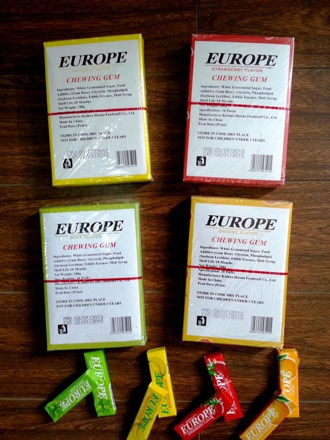 5PCS Chewing Gum