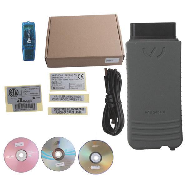 Best Quality VAS5054A Odis V2.0 with Bluetooth New Soft for VAG Cars VAS 5054A