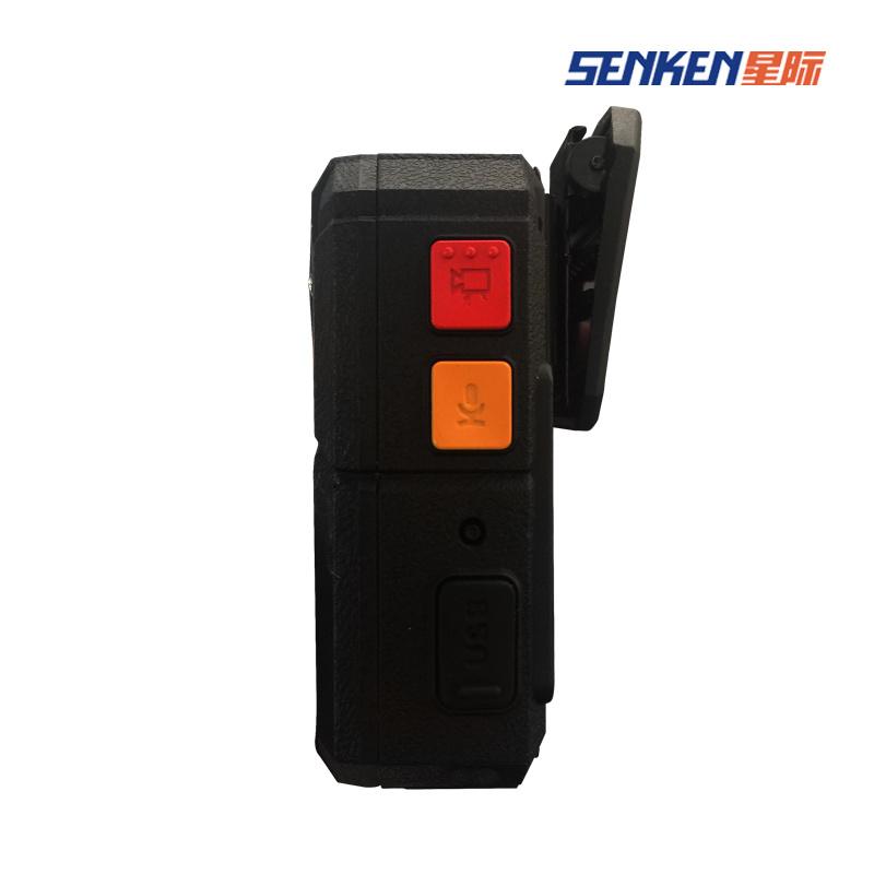 IP68 64G CCTV Digital Police Body IP Camera with WiFi& GPS Option