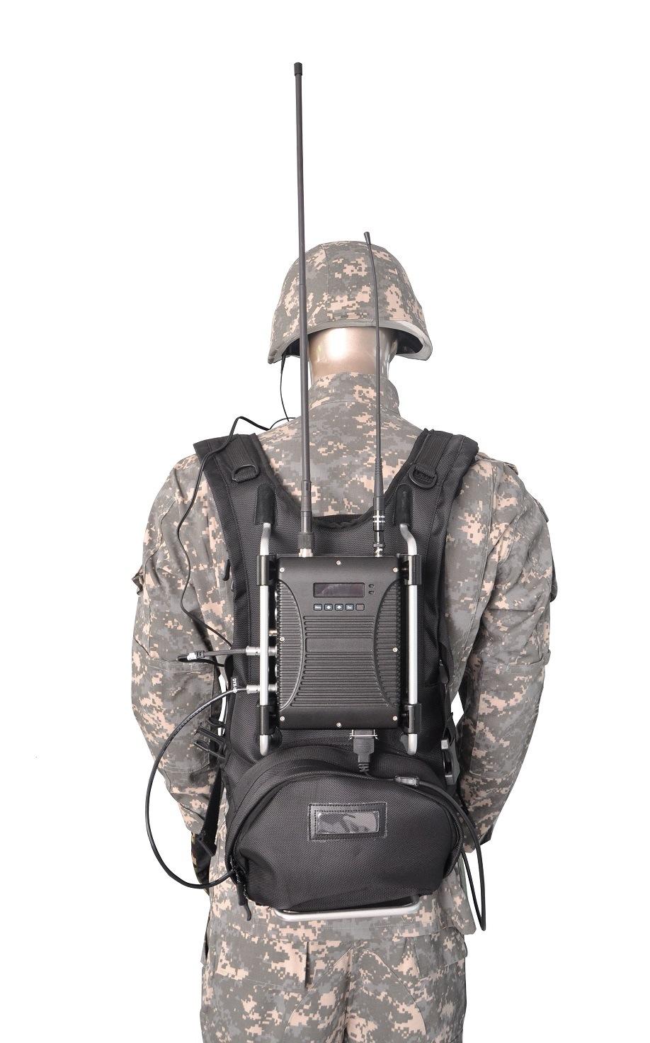 Cofdm HD Manpack Video Transmitter/Sender/Encoder
