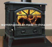 Cast Iron Wood Burning Stoves (AM27-14KW)