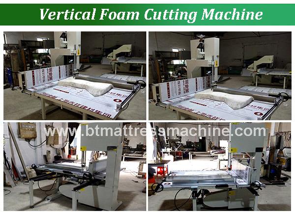 Vertical Foam Cutting Machine 3 Sheel