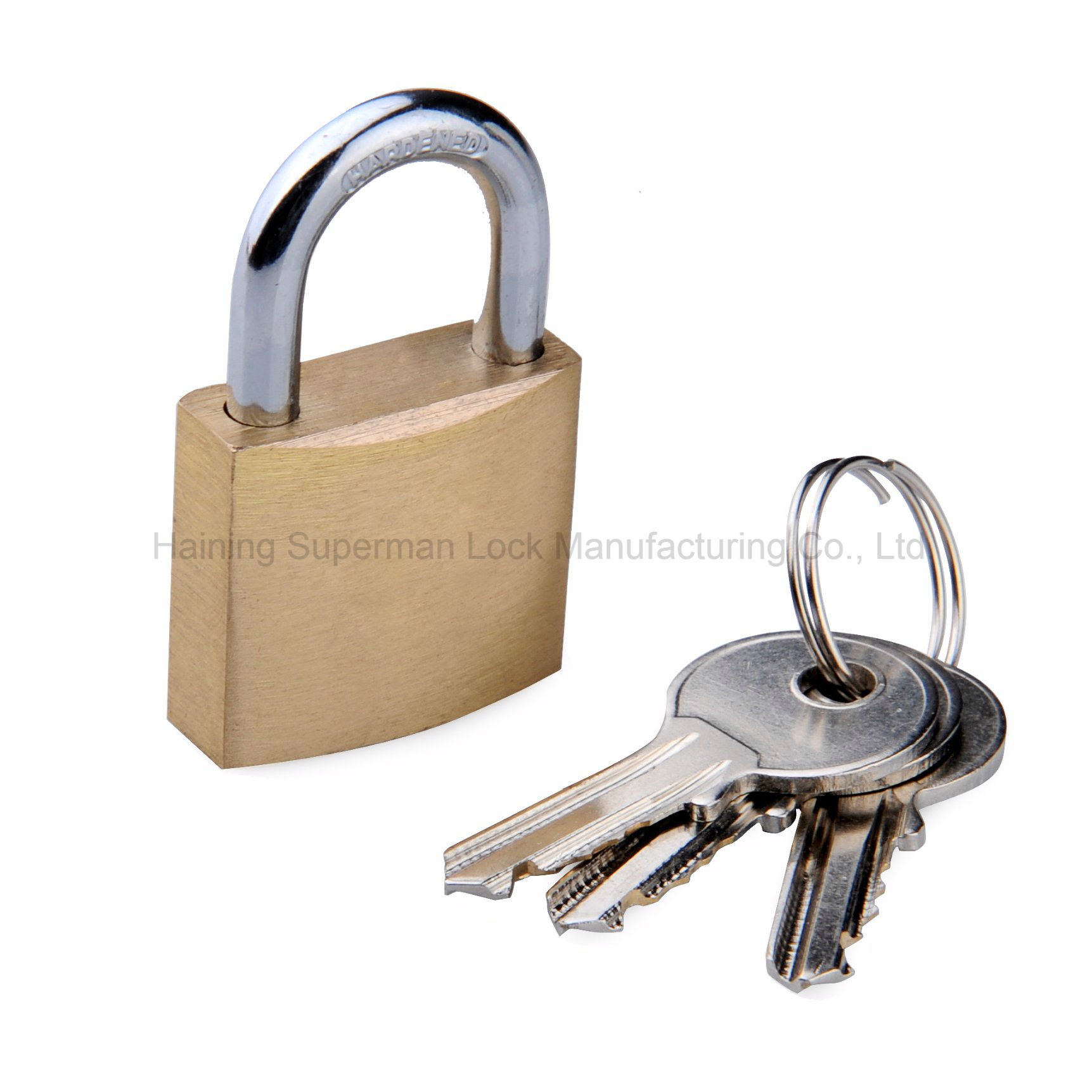 "Sepox Solid Brass Key Different Padlock with 40mm Wide Body, ¼ "" Shackle Diameter"