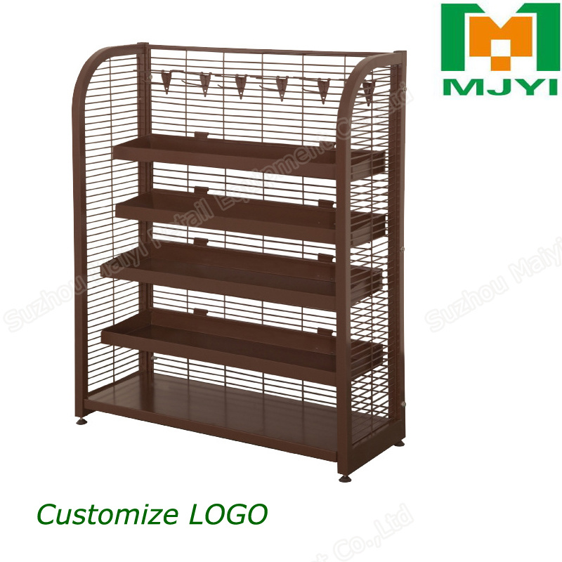Steel Display Storage Rack Supermarket Shelf