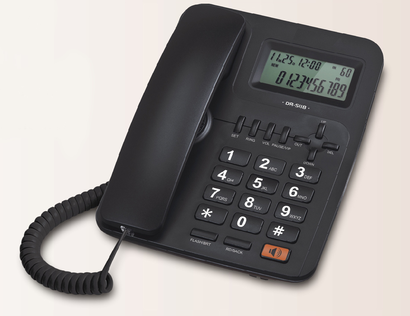 Caller ID Telephone, Corded Phone, Telephone, Office Phone, Landline Phone, Landline Telephone