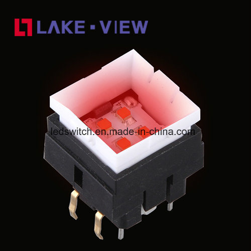 Perfectly Poise Illuminated Tact Switch with Many LED Color Options