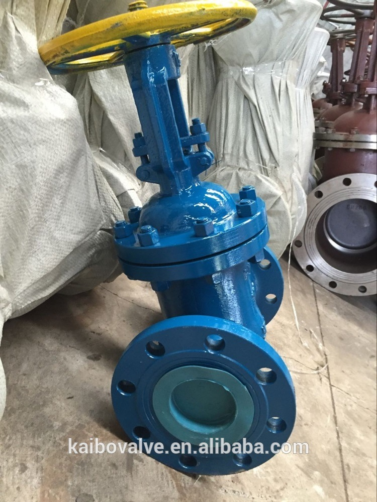 GOST Gate Valve (Flanged, Py40, Dn100/200, Cast Steel