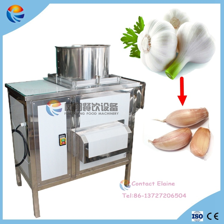 Industrial Commercial Automatic Ce Certificated Stainless Steel Shallot Garlic Peeler