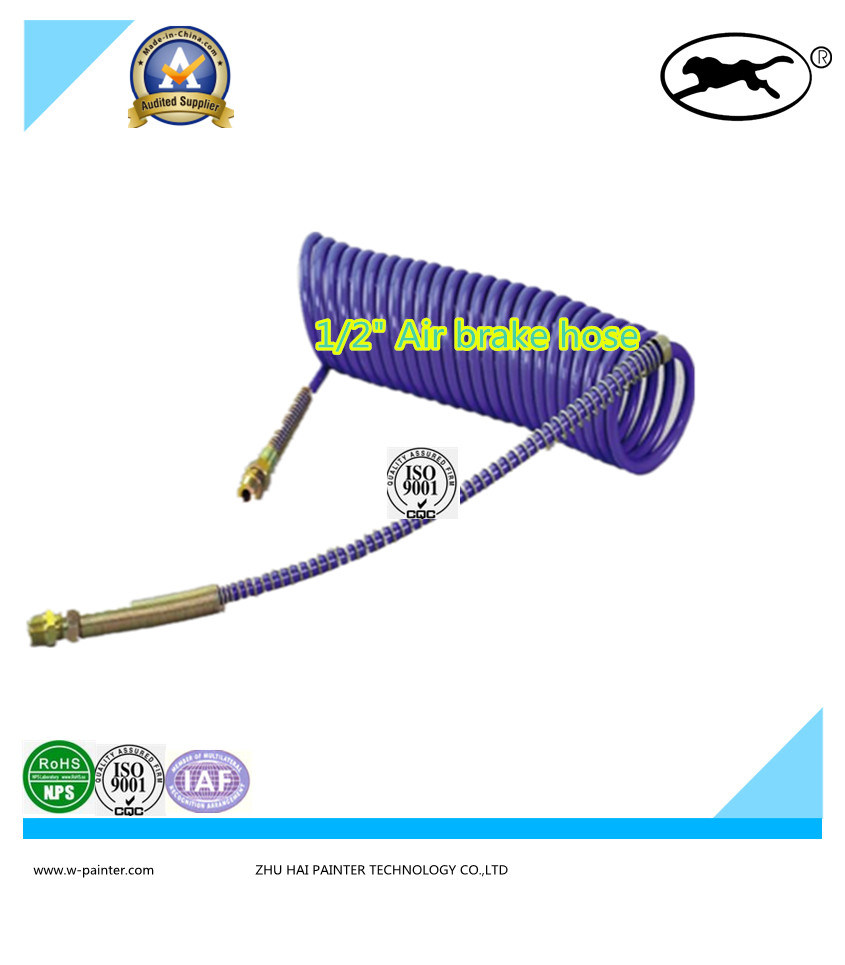 "1/2"" Nylon Hose with B Type Double Layerswith Fiber Braided."