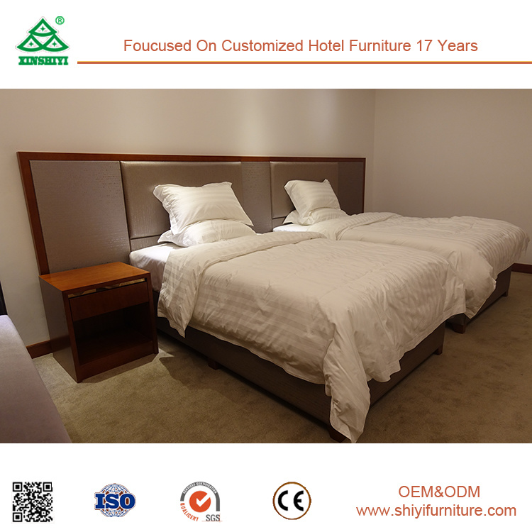 2017 Hot Sale Modern Bedroom Furniture for Super 8 Hotel