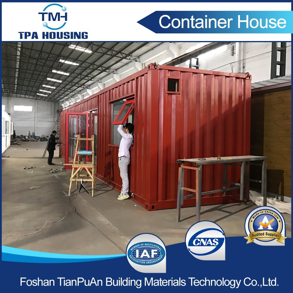 40FT Glass Wall High Quality Modified Container House for Sale
