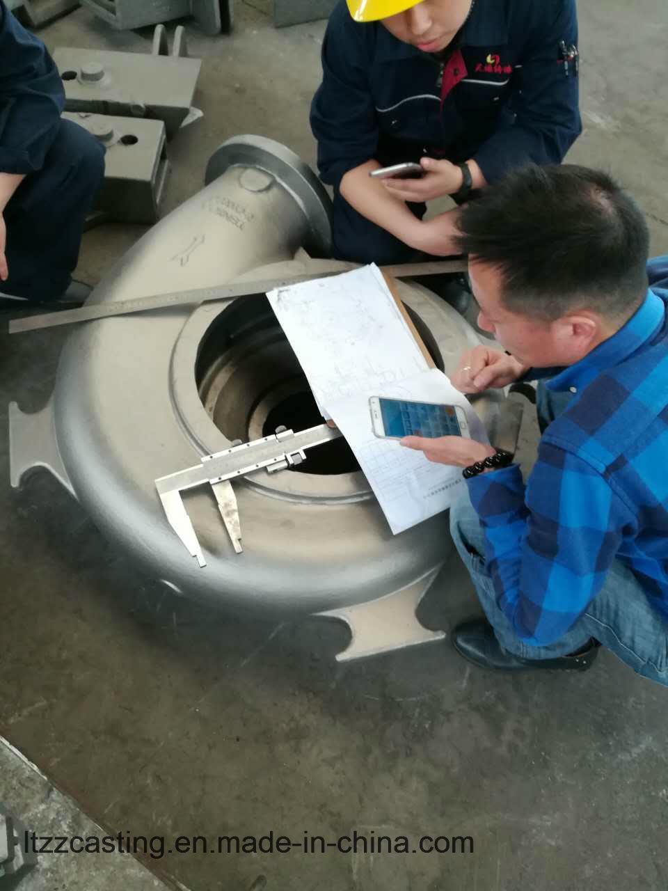 Pump Part Ss316 260kgs Steel Sand Casting