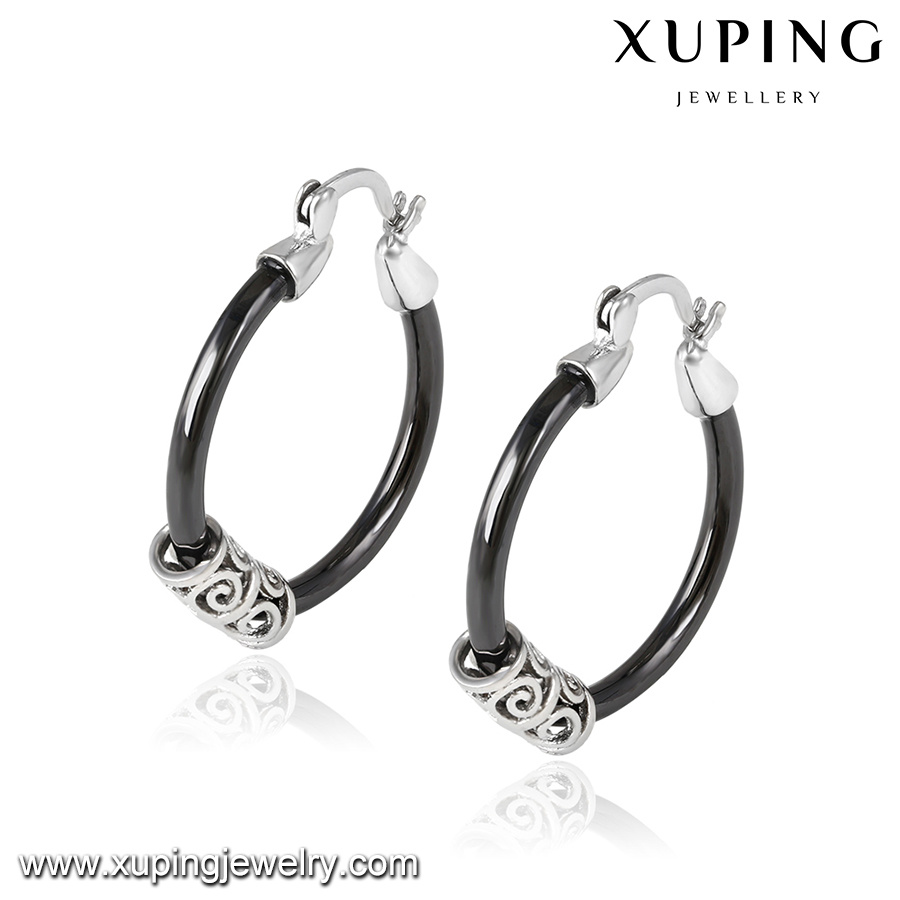 92867 New Arrival Fashion Ceramic Earring in Stainless Steel Plated