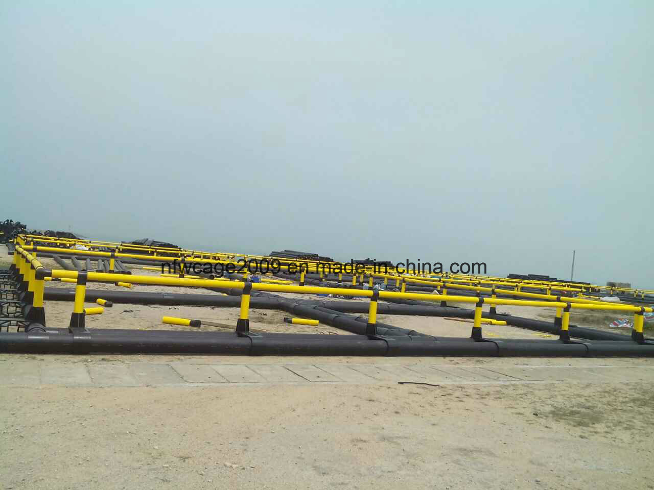 High Quality Storm and Wave Resist Square Deep Sea Floating Aquaculture Fish Farming Cages