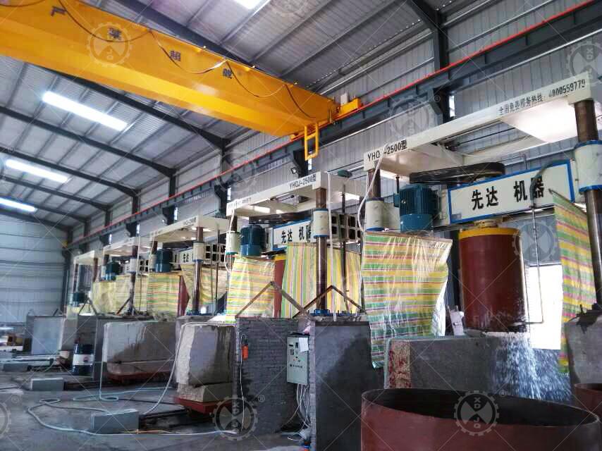 Yhqj-2500 Gantry Stone Cutting Machine for Column Slab
