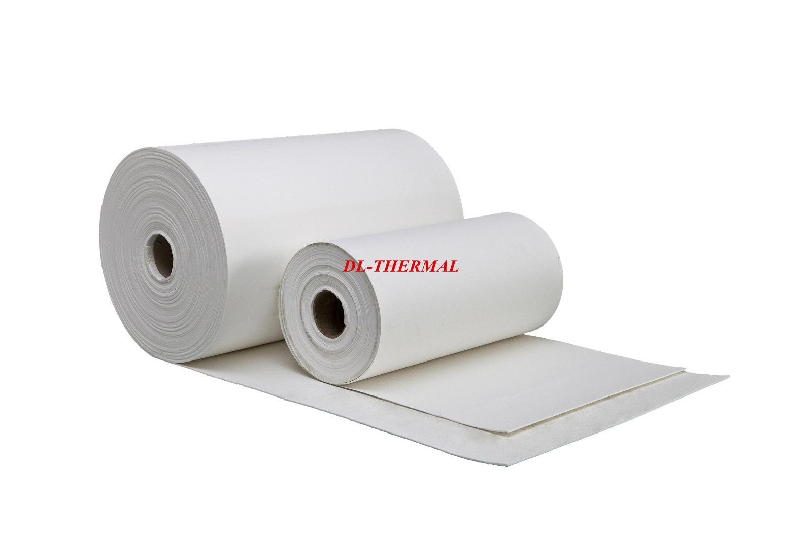 3mm Refractory Ceramic Fiber Paper Thermal Insulation Grade 1350