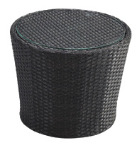 Garden Rattan/Wicker Wave Sun Lounge Set for Outdoor Furniture (LN-912)