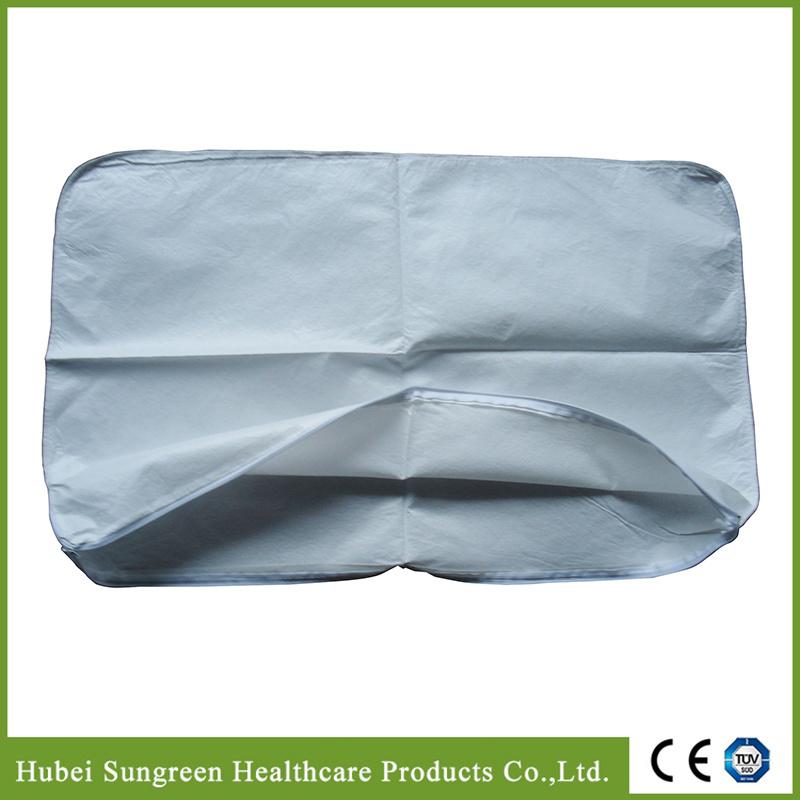 Microporous Non-Woven Pillow Cover, Pillow Case with Zipper