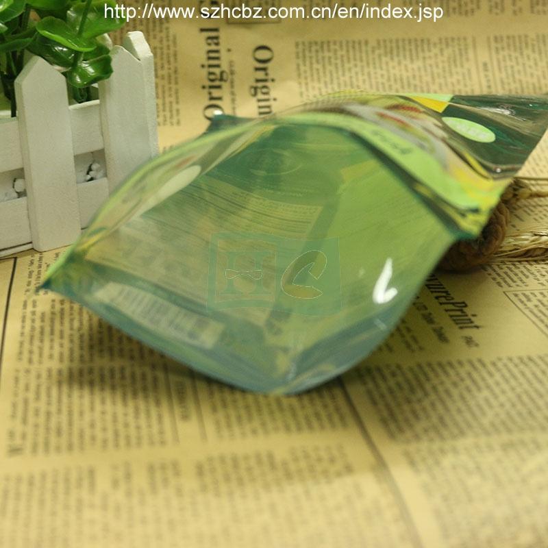 Stand up Zipper Plastic Cat Litter Bags