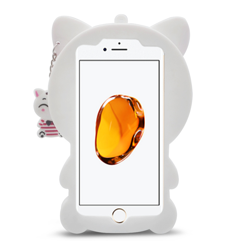 New Designs Hot Sale Soft Cartoon Cat Silicone Case for Samsung J7 Prime J5 Prime Mobile Phone Case