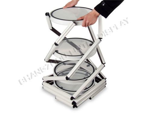 Hot Sales Portable Spiral Trade Show Tower Display