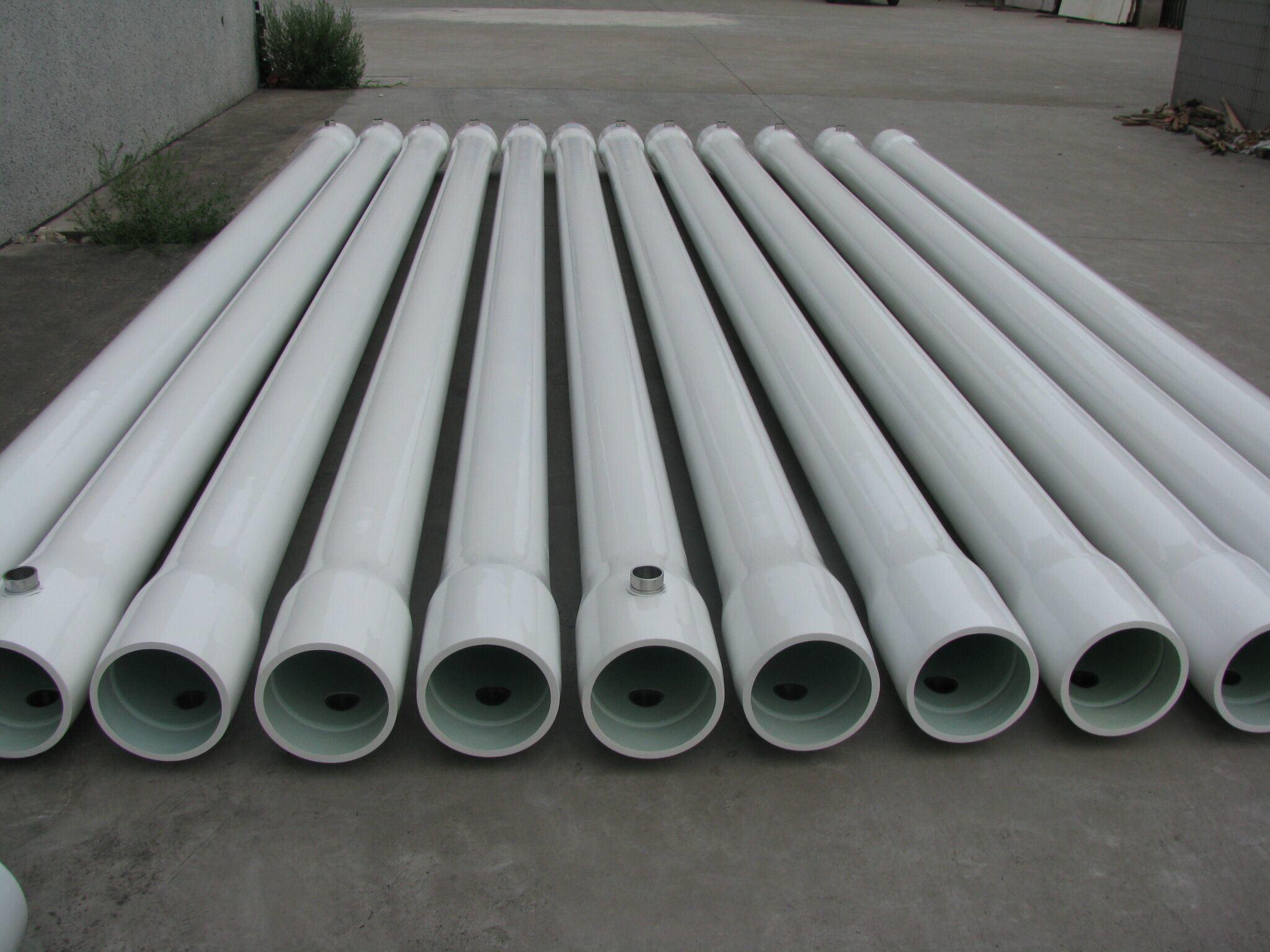 China Sea Water Desalination RO Membrane Housings China FRP