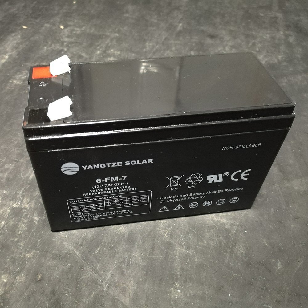 Small Rechargeable Lead Acid Battery 12V 7ah