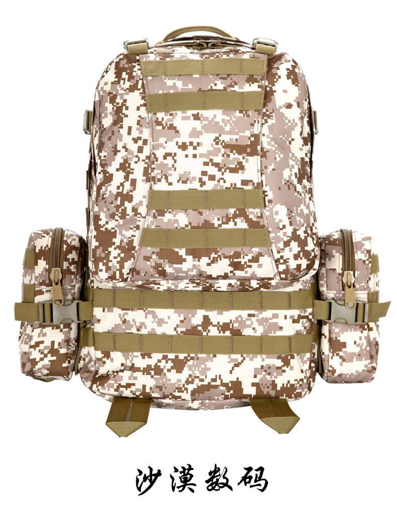 Multi-Functional Pockets Tactical Military Large Size Mother-Son Backpack