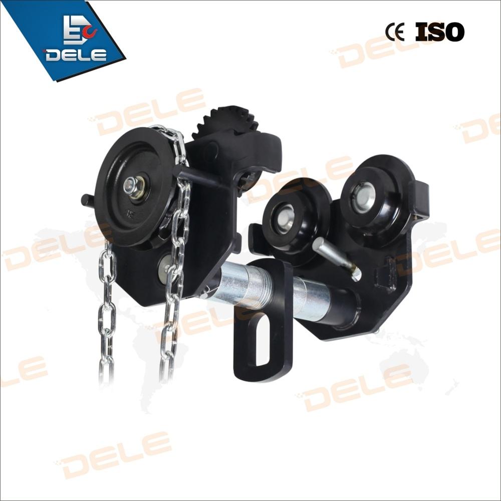 Supply 0.5t to 5t Trolley Push Gear Trolley