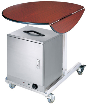 Flambe Trolley with Warm-Box (FW-10A)