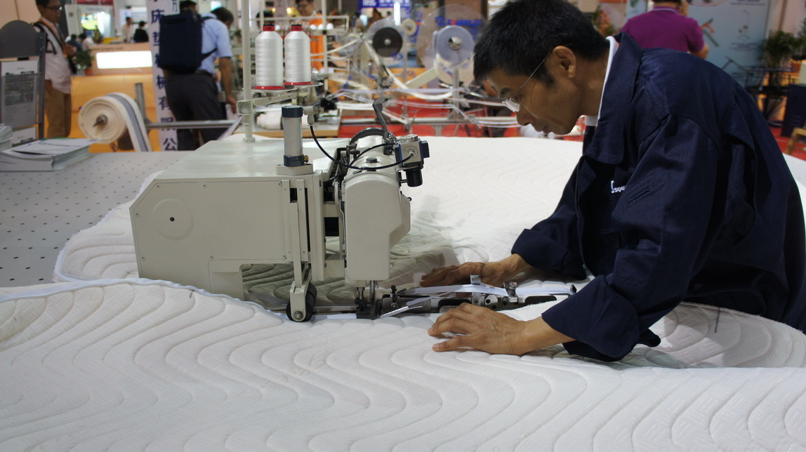 Chain Stitch Zipper Mattress for Mattress Sewing Machine