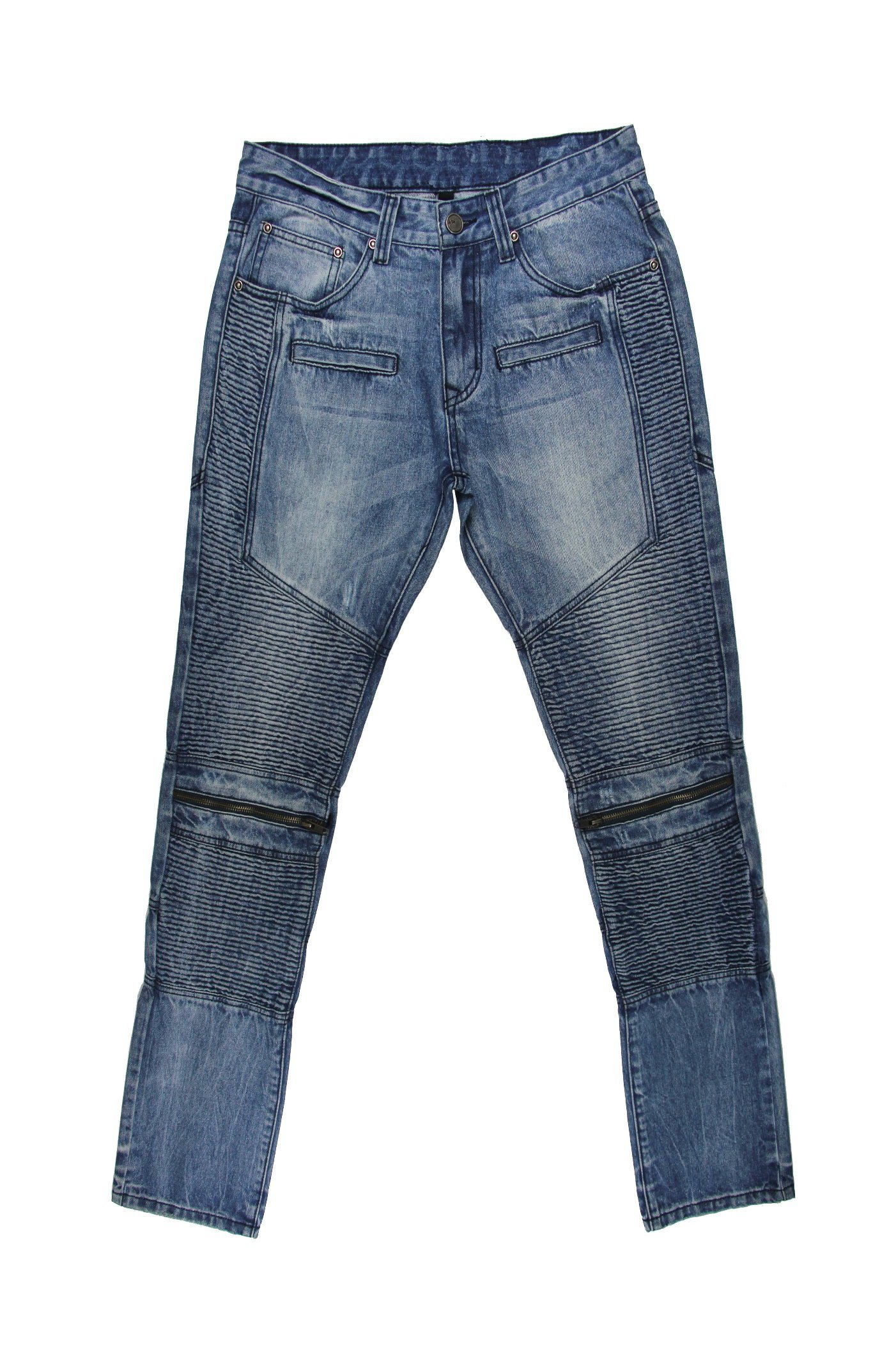 High Quality Men′s Smcok Jeans (MYX15)