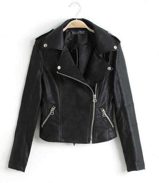 Women′s Fashion Jacket PU, Clothing, Fashion