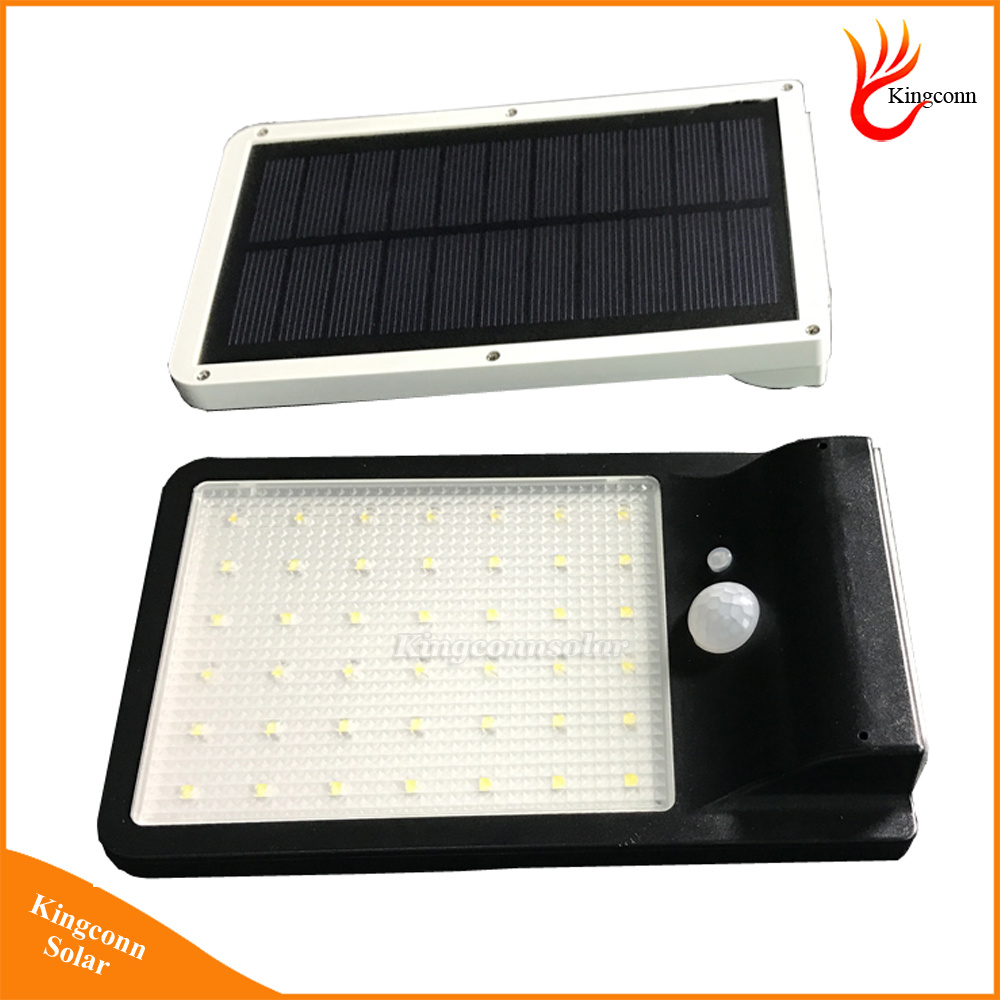 500 Lumen Solar Powered LED Light PIR Motion Sensor Solar Lamp Outdoor Wall Lamp Solar Garden Light