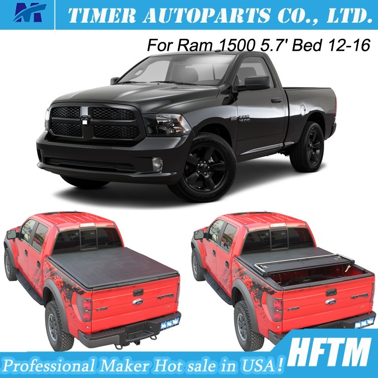 3years Warranty Cover Tonneau Covers for RAM 1500 12-16