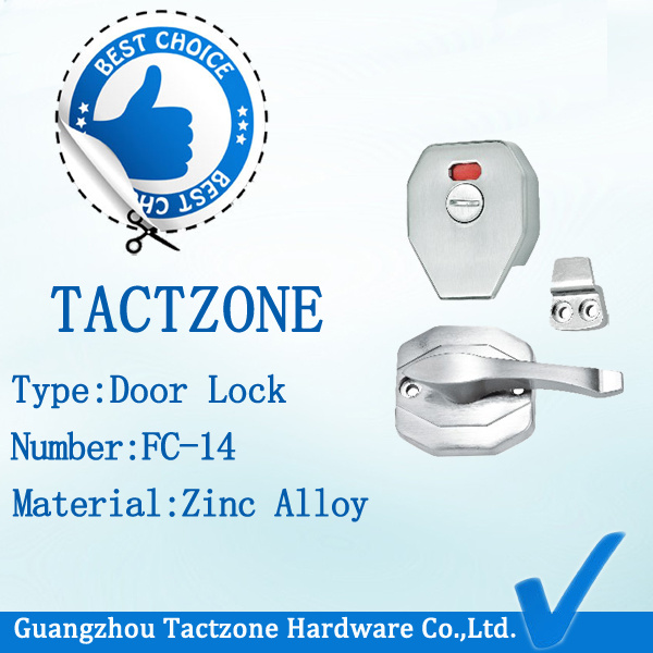 Factory Directly Toilet Partition Fittings Indicator Handle Door Lock