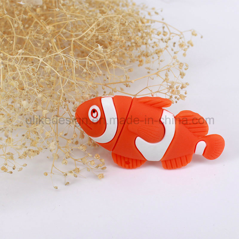 Sea Fish Promotion USB Flash Drive (UL-PVC036)