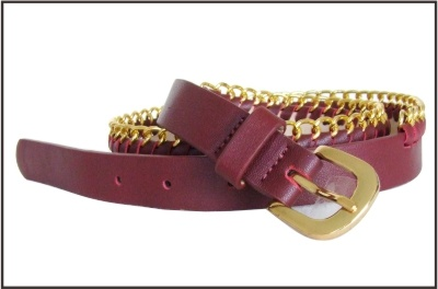 Genuine Leather Chain Fashion Belt