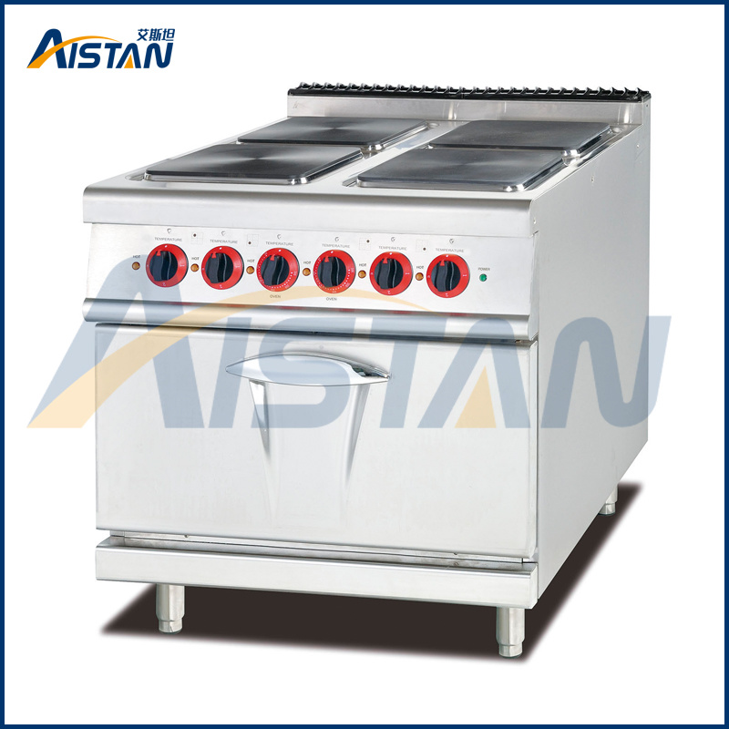 Eh887A 4 Hot Plate with Oven of Cooking Equipment