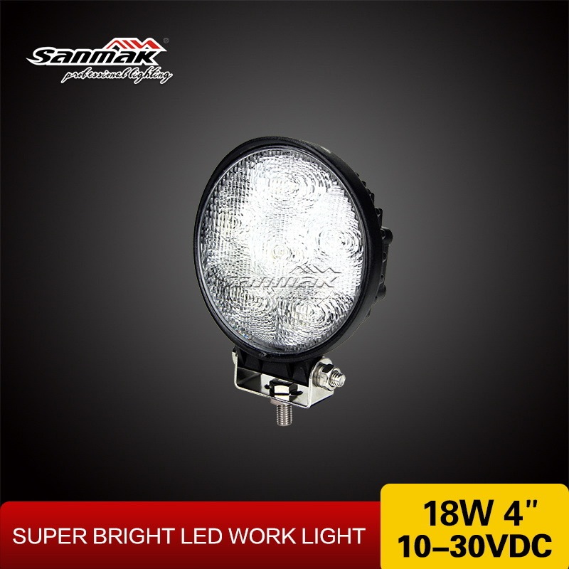 "4"" 18W Car Accessories LED Working Light"