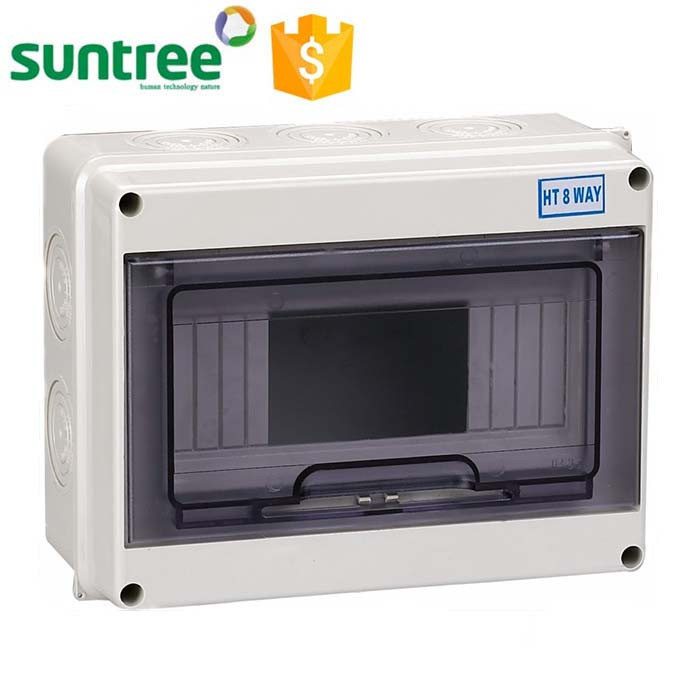 Electrical Distribution Box for 2p to 32p (ABS and Ppc)
