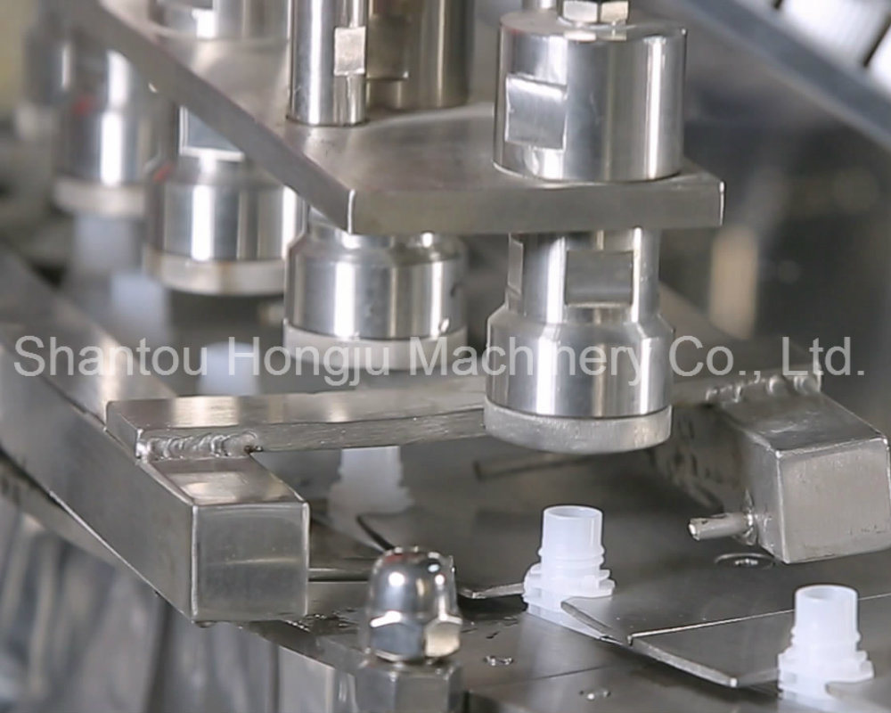 500ml Water Filling Machine for Flip Top Standing Pouch