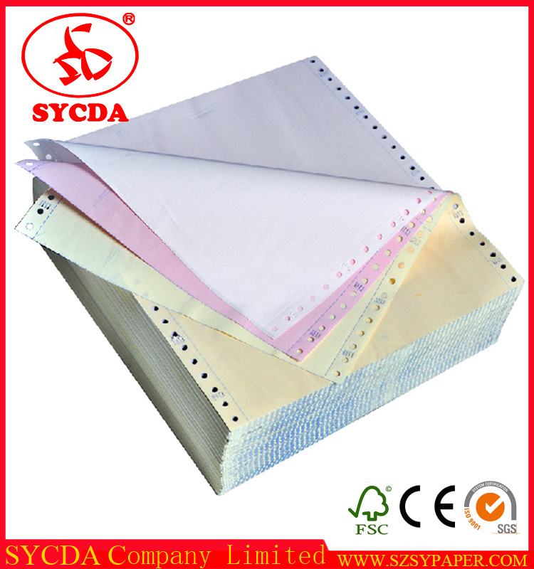 2/3 Ply Carbonless Paper Computer Printing Paper